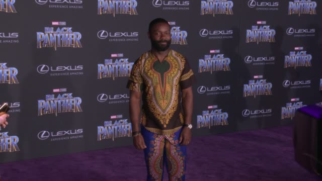David Oyelowo at the Marvel Studios' 'Black Panther' World Premiere at Dolby Theatre on January 29 2018 in Hollywood California