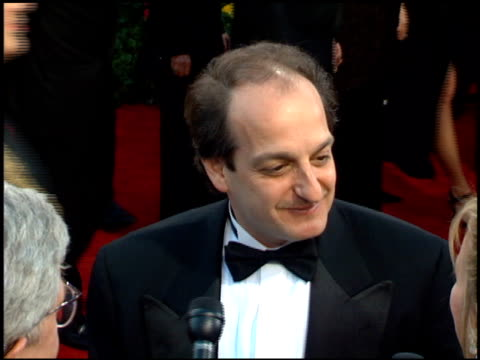 David Paymer at the 1995 Academy Awards Arrivals at the Shrine Auditorium in Los Angeles California on March 27 1995