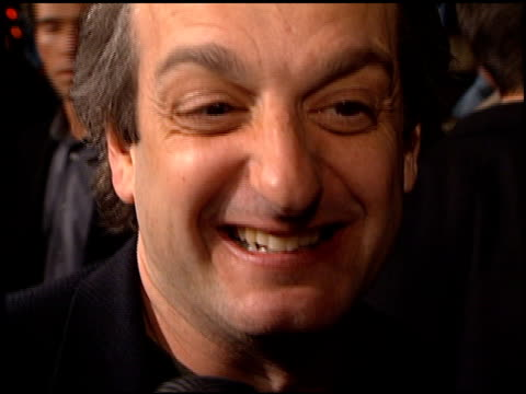 David Paymer at the 'Analyze This' Premiere at the Mann Village Theatre in Westwood California on March 1 1999