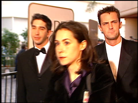 vidéos et rushes de david schwimmer at the 1997 golden globe awards at the beverly hilton in beverly hills, california on january 19, 1997. - golden globe awards