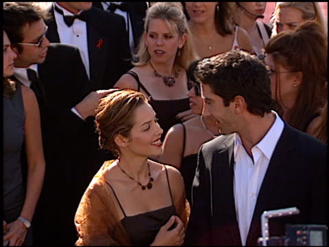 David Schwimmer at the 1999 Emmy Awards at the Shrine Auditorium in Los Angeles California on September 12 1999