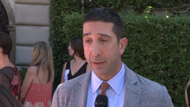 INTERVIEW David Schwimmer on emceeing the event why he supports this cause on Viola Davis and Cheryl Saban being honored on the work of The Rape...