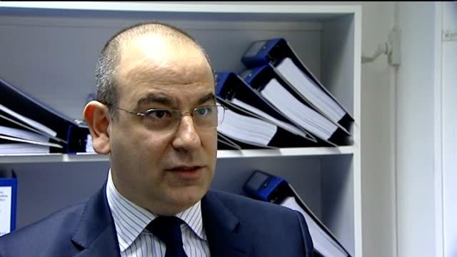 david sonn interview sot - jon venables stock-videos und b-roll-filmmaterial