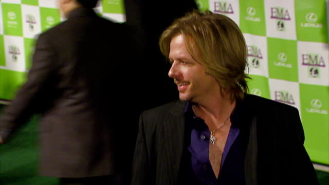 david spade at the 16th annual environmental media awards at ebell theater in los angeles, california on november 8, 2006. - environmental media awards stock videos & royalty-free footage