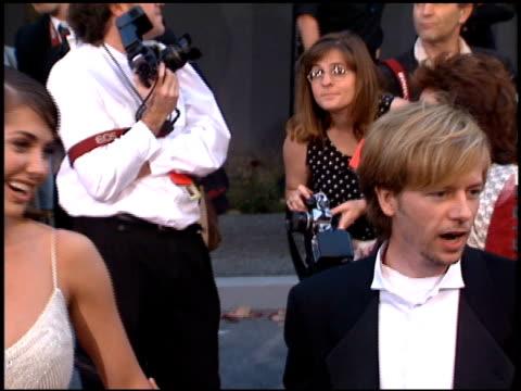 david spade at the 1996 people's choice awards at universal studios in universal city, california on march 10, 1996. - デビッド スペード点の映像素材/bロール