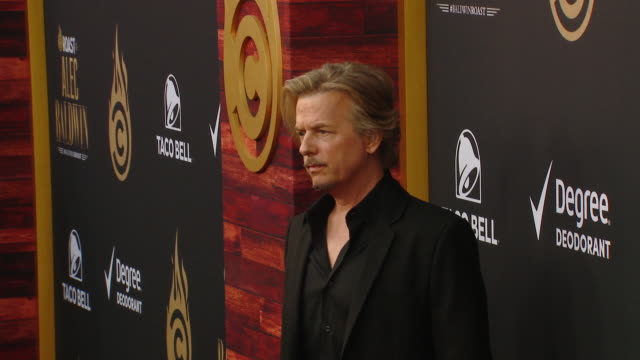 david spade at the comedy central roast of alec baldwin in los angeles ca - alec baldwin stock videos & royalty-free footage