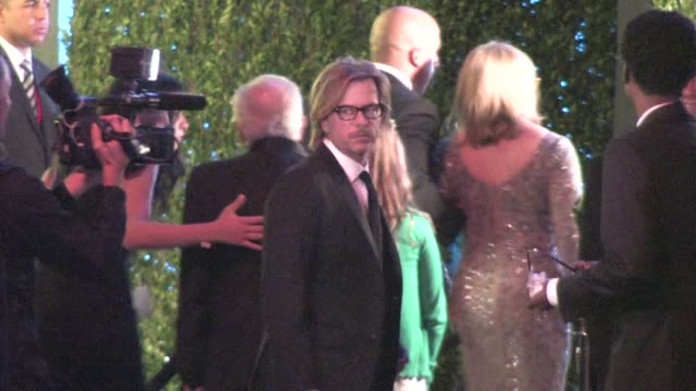 david spade chris rock arrive at the 2012 vanity fair oscar party in west hollywood ca 02/26/12 - oscar party stock-videos und b-roll-filmmaterial