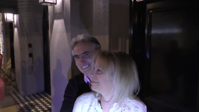 INTERVIEW David Steinberg discusses late night talk show hosts outside Craig's Restaurant in West Hollywood in Celebrity Sightings in Los Angeles