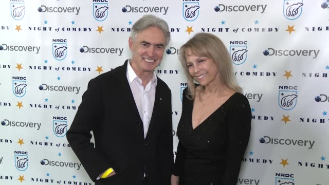 david steinberg robin todd steinberg at the natural resources defense council presents night of comedy benefit hosted by seth meyers at new york... - seth meyers stock videos and b-roll footage
