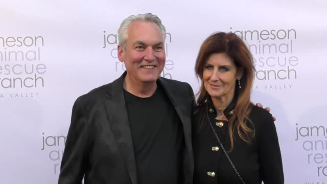 David Stevens and Monica Stevens at The Jameson Animal Rescue Ranch Presents Napa In Need A Wildlife Relief Benefit For The Animals of Napa Valley on...