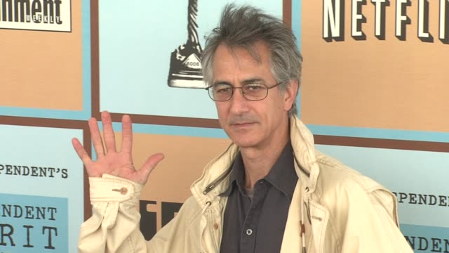 david strathairn at the the 21st annual ifp independent spirit awards in santa monica california on march 4 2006 - ifp independent spirit awards stock videos and b-roll footage