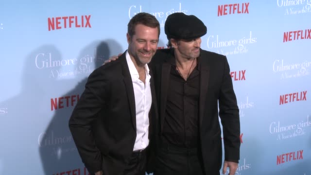 David Sutcliff and Scott Patterson at the Premiere of Netflix's Gilmore Girls A Year In The Life at Regency Bruin Theater on November 18 2016 in...