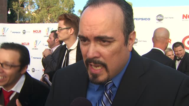 david zayas on the importance of the alma awards and the cultural diversity of dexter's cast at the 2009 alma awards at westwood los angeles ca - alma awards stock videos and b-roll footage