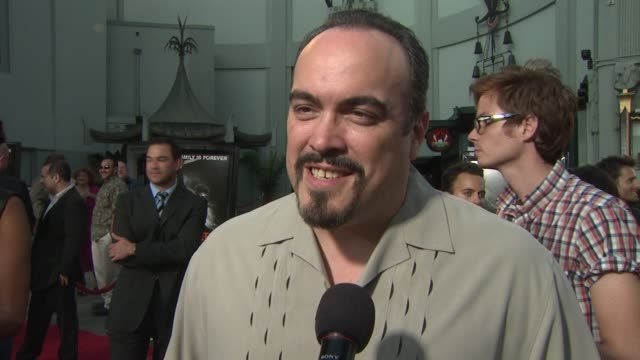 david zayas on whether he is a horror film fan and what he feels about rob zombie at the 'halloween ii' premiere at hollywood ca - rob zombie stock videos & royalty-free footage