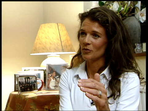 great britain trail morocco england london annabel croft interview sot - croft stock videos & royalty-free footage