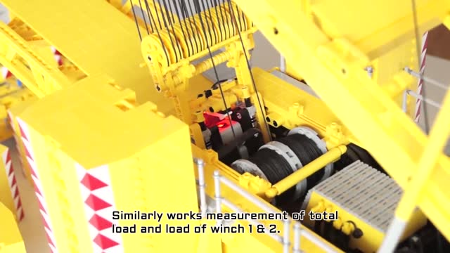 dawid szmandra built an impressive lego liebherr lr 11000 crane to the model scale of 1:24 over the christmas holidays in poland. the height of the... - dining room stock videos & royalty-free footage
