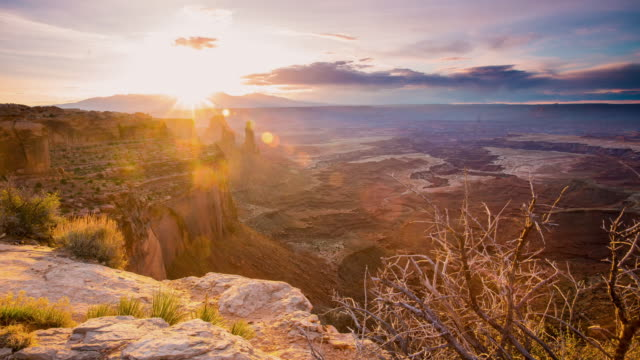 T/L 8K Dawn in het Canyonlands National Park
