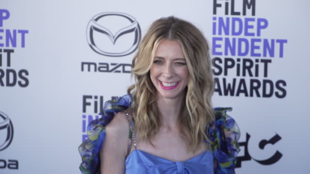 dawn luebbe at the 2020 film independent spirit awards on february 08 2020 in santa monica california - film independent spirit awards stock videos & royalty-free footage