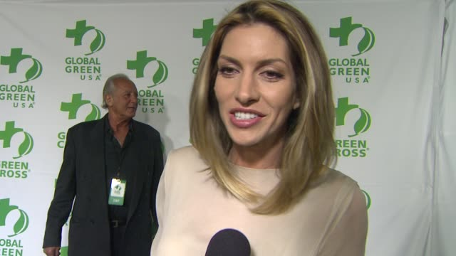 INTERVIEW Dawn Olivieri on what she appreciates about the work Global Green USA is doing at Global Green USA's 10th Annual PreOscar Party on 2/20/13...