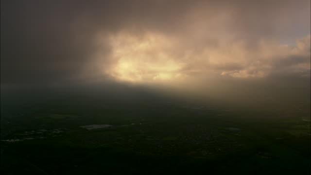 dawn over high peak - twilight stock videos & royalty-free footage