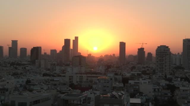 Dawn over Tel Aviv, Israel