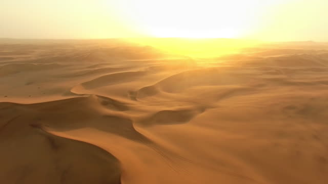 dawn over the namibian desert - namibian desert stock videos and b-roll footage