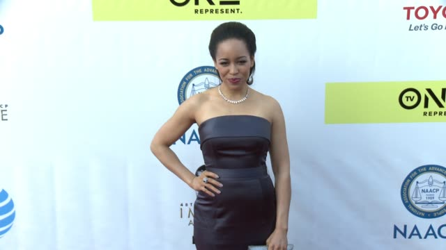 DawnLyen Gardner at 48th NAACP Image Awards at Pasadena Civic Auditorium on February 11 2017 in Pasadena California