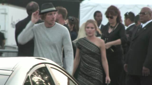 Dax Shepard and Kristen Bell leaving the Do Something Awards in Hollywood