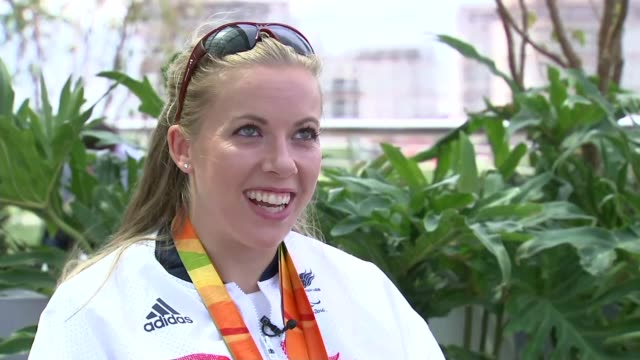 Day 10 Team GB passes target of 121 medals Hannah Cockcroft interview SOT