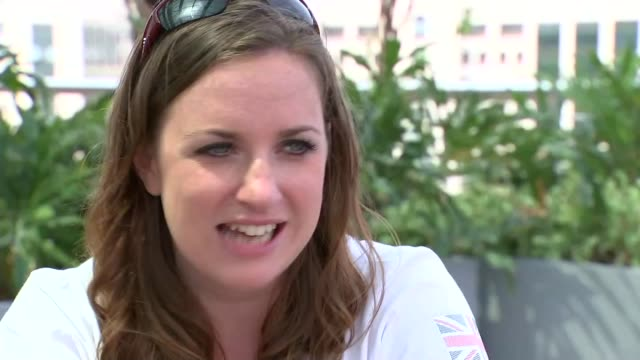 Day 10 Team GB passes target of 121 medals Natasha Baker interview SOT
