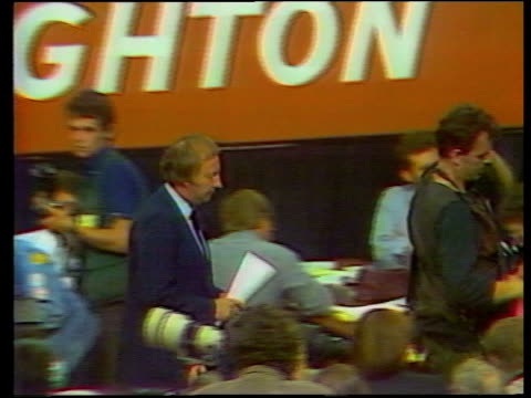 day 356 union legacy itn lib south yorkshire ms young miner sitting looking at bills cms telecom bill held tx 3984 sussex brighton cms track past... - tgv点の映像素材/bロール