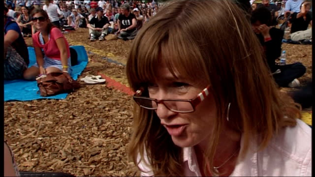day 5: bradley wiggins wins gold in time trial; england: london: hyde park: ext vox pops - day 5 stock videos & royalty-free footage