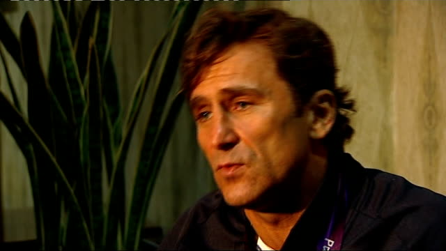 Day 7 Alex Zanardi interview Zanardi interview SOT on dealing with his accident / on his quote about Usain Bolt and the concept of disability 'if...