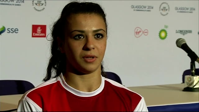 Day 8 Claudia Fragapane interview SOT
