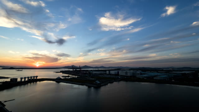 Day and Night of the Sea at the Incheon Harbor