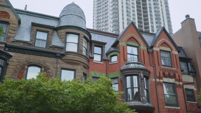 day exterior olsen-hansen row houses - row house stock videos & royalty-free footage