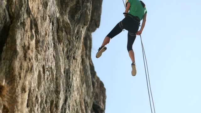 day for sports - climbing equipment stock videos & royalty-free footage