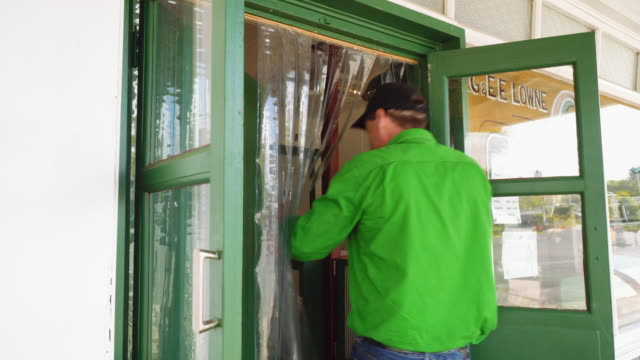 A day in the life of a butcher: opening the shop