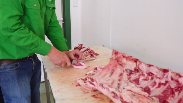 A day in the life of a butcher: working at the shop