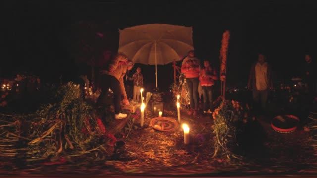 day of the dead in mexico - minoranza video stock e b–roll
