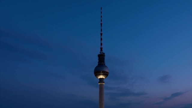 Day to night, Fernsehtrum Tower, Timelapse,TU