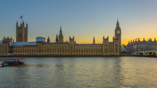 day to night motion controlled time-lapse sequence of the sunset over palace of westminster aka houses of parliament in london. - city of westminster london stock videos & royalty-free footage