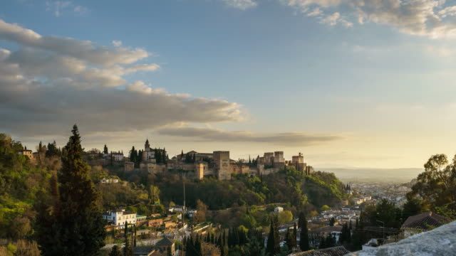 Day to night of Alhambra