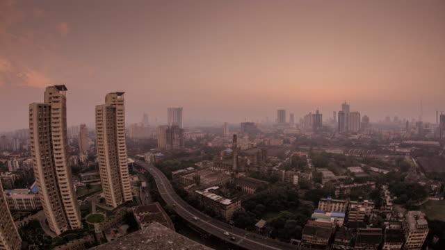 T/L Day to night of the city of Mumbai