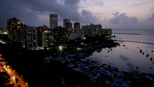 Day to night time lapse - Mumbai City