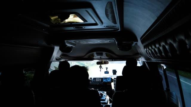 day trip by mini van - van vehicle stock videos & royalty-free footage