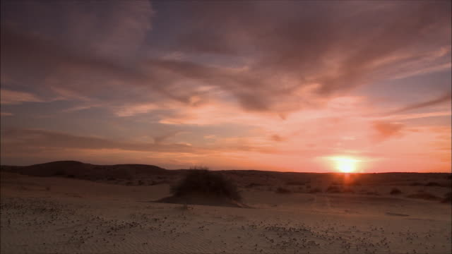day turning to night in the desert - saudi arabia stock videos & royalty-free footage