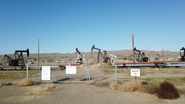 days of oil drilling in california are numbered - pursuit concept stock videos & royalty-free footage