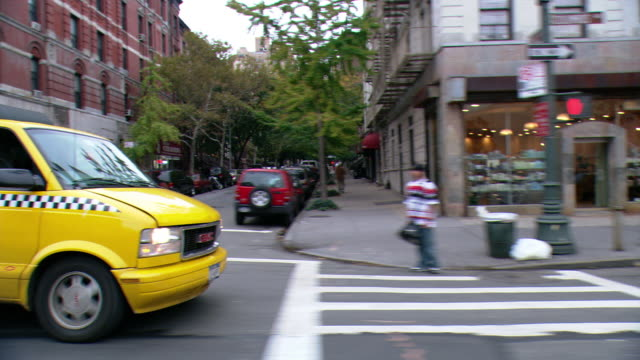 cpov / side view / daytime driving through manhattan /new york city / ny ny - apt stock videos and b-roll footage