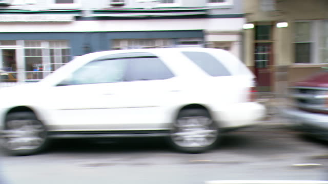 cpov / side view / daytime driving through manhattan / new york city / ny ny - apt stock videos and b-roll footage